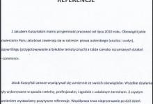 Referencje - MSEO Michał Stopa
