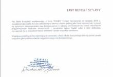 Referencje - TOMBIT Tomasz Nowakowski